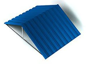 Расчет профнастила для крыши, стен и заборов