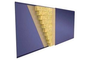 Теплопроводность сэндвич панелей и тепловая изоляция зданий
