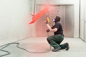 метод порошковой покраски металла