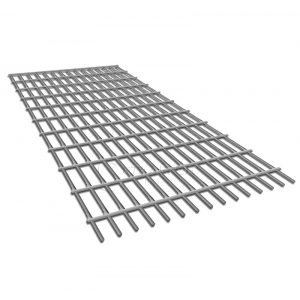 Сетка сварная неоцинкованная 6х6х0,4мм, рулон 1х15м