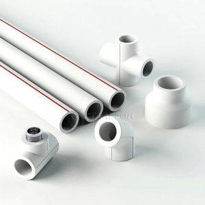 Труба PP-R белая арм алюминием Дн 20х3,4 Ру25 SDR6 Т<90С L=4м VALFEX 10104020