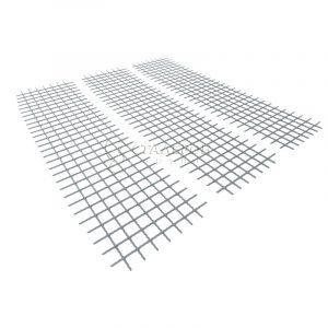 Сетка сварная оцинкованная Вр-1 50х50х3,0мм, карта 0,5х2м