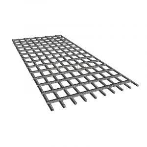 Сетка сварная неоцинкованная А3 100х100х6,0мм, карта 2х6м