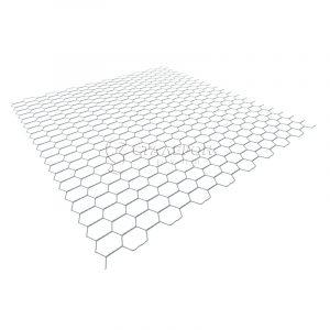 Сетка крученая оцинкованная 25х25х0,6мм, рулон 1х200м