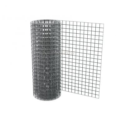 Сетка сварная 10х10 d=1,0 мм (1,0х15 м) оцинкованная