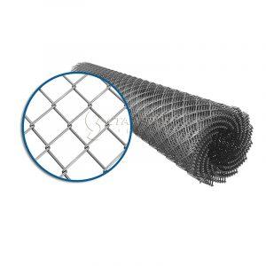 Сетка плетеная рабица 20х20 d=1,4 мм (1,5х10 м)