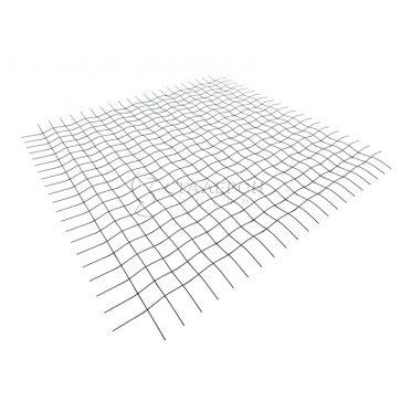 Сетка тканая нержавеющая 2х2х0,4мм. Рулон 1х30м