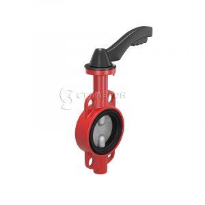 Затвор чугунный дисковый поворотный межфланцевый 2103 Ду50 Ру16 EPDM, Genebre